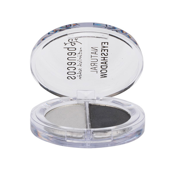 BENECOS Fard de pleoape natural Duo Shady Grays