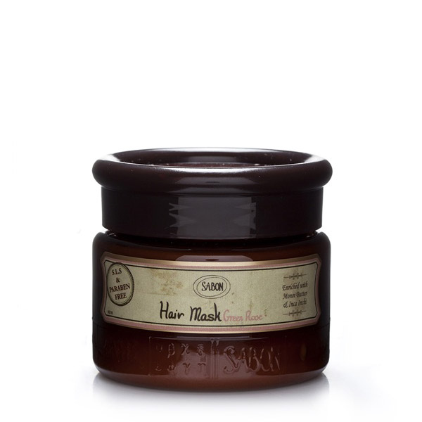 SABON Green Rose Mască de păr 200ml