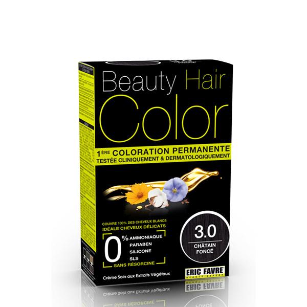 BEAUTY HAIR COLOR vopsea de păr 3.0 Șaten închis