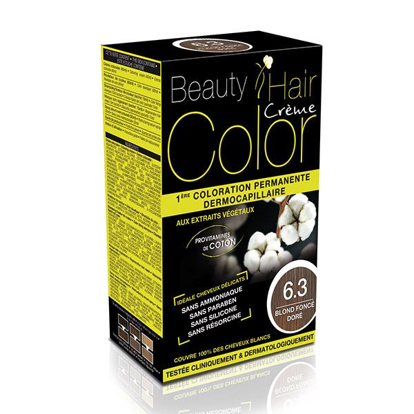 BEAUTY HAIR COLOR vopsea de păr 6.3 Blond închis auriu