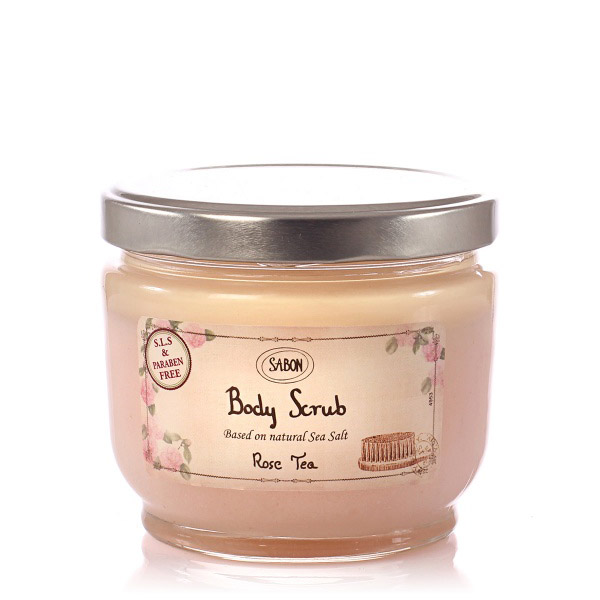 SABON Exfoliant Rose Tea 600g