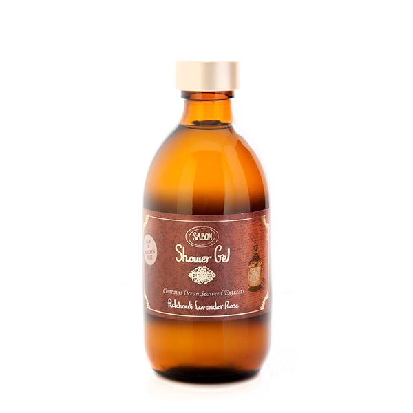 SABON Gel de duş Paciulie - Lavandă - Trandafir 300ml