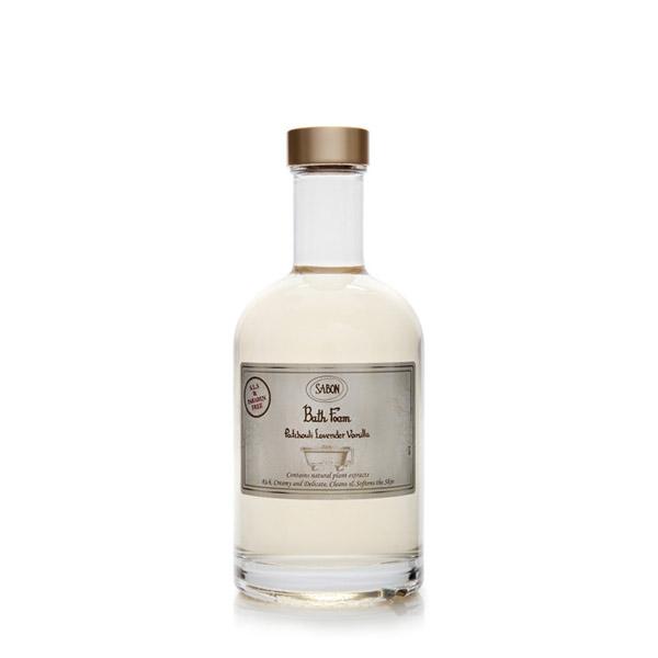 SABON Spumă de baie Paciulie - Lavandă - Vanilie 375ml