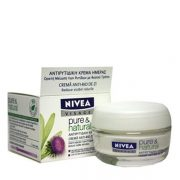 Nivea Pure&Natural Cremă anti-rid de zi 50ml