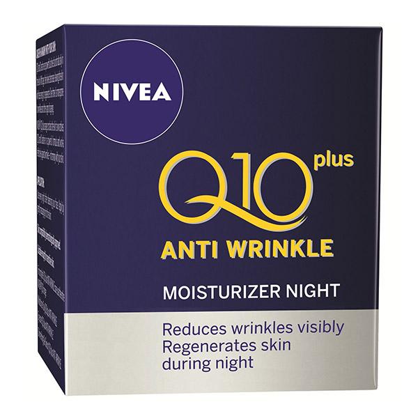 Nivea Q10 Plus Cremă de noapte anti-rid 50ml