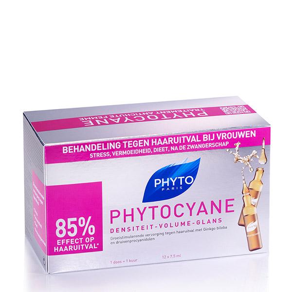 PHYTO Phytocyane tratament impotriva caderii parului 12x7.5ml