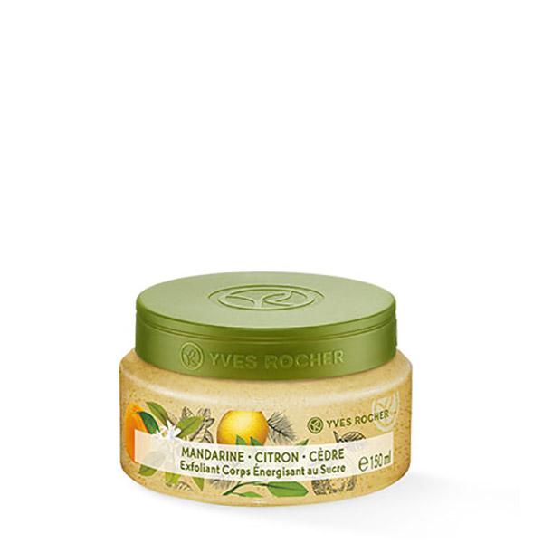 YVES ROCHER Exfoliant corp Mandarină, Lămâie & Cedru 150ml