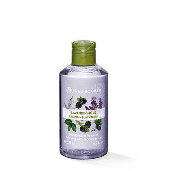 YVES ROCHER Gel de duș nectar Lavandă & Mure 200ml