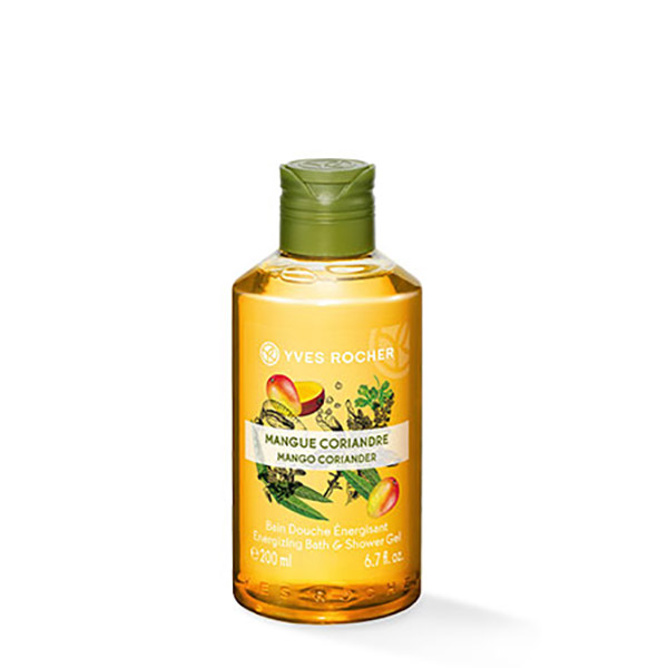 YVES ROCHER Gel de duș nectar Mango & Coriandru 200ml