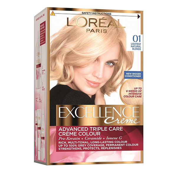 Loreal Paris Excellence Creme Vopsea De Par 01 Blond Ultra Deschis