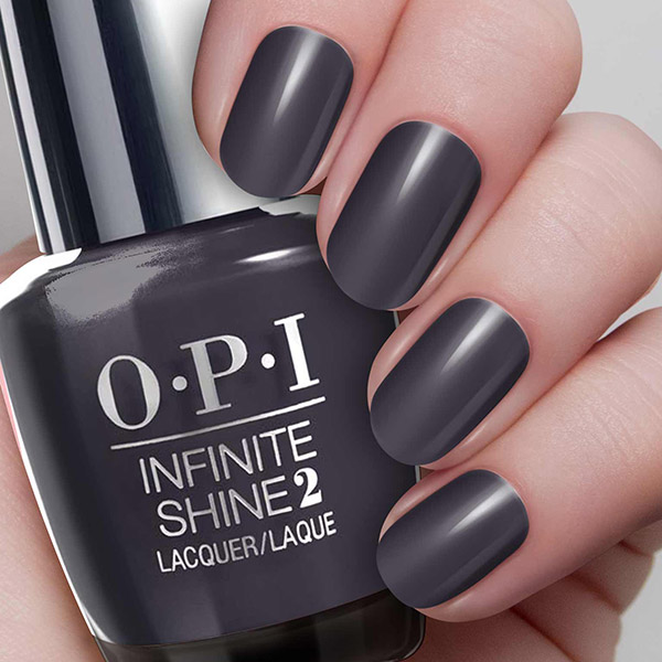 OPI Lac de unghii Infinite Shine Strong Coal-Ition 15 ml 2