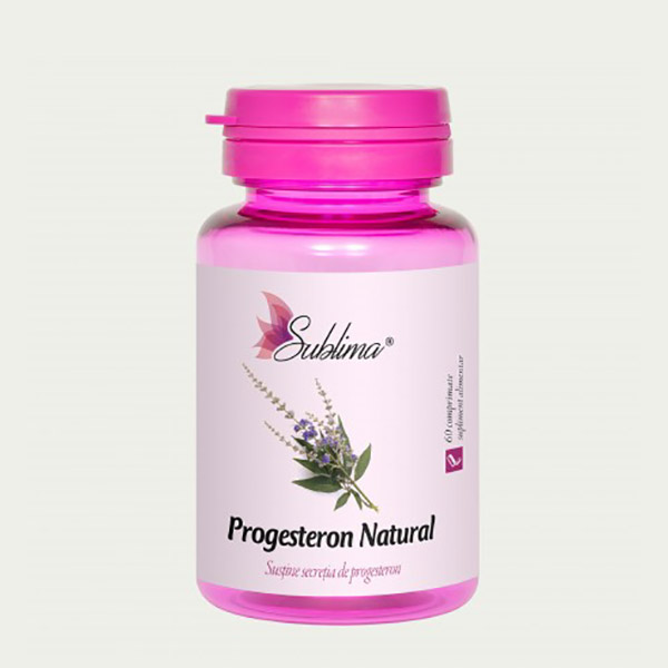 DACIA PLANT Progesteron Natural 60cpr