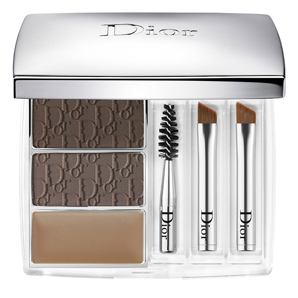 DIOR Backstage Pros All-In-Brow 3D Kit sprâncene 001 Brown 7.5g