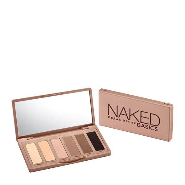 URBAN DECAY Naked Basics Paletă farduri de ochi 6 nuanțe