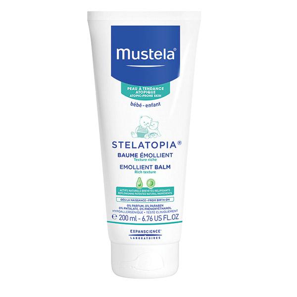 Mustela Stelatopia balsam emolient pentru pielea cu tendință atopică 200 ml
