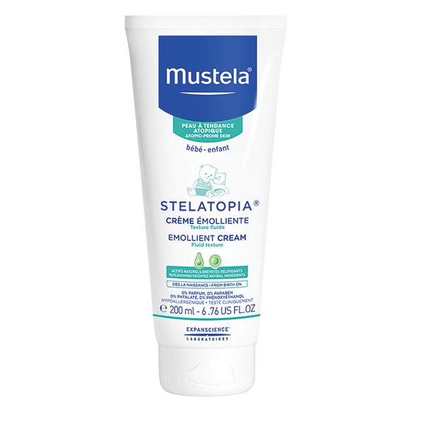 Mustela Stelatopia cremă emolientă pentru pielea cu tendință atopică 200 ml