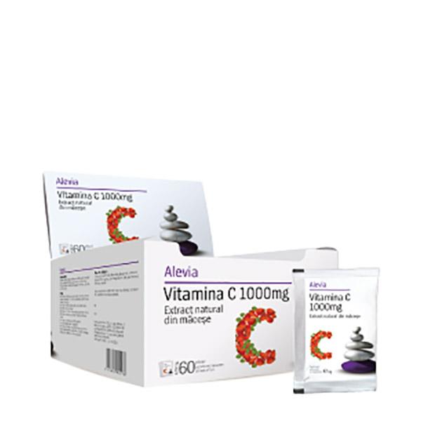 Alevia Vitamina C 1000mg Plic 6g