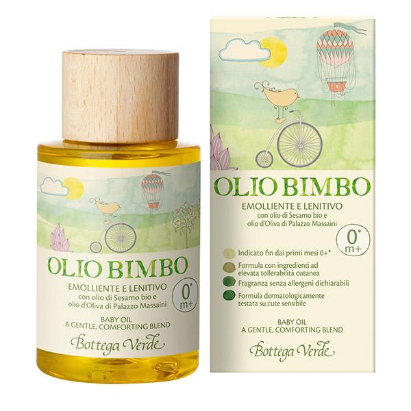 Bottega Verde Ulei de masaj cu ulei de susan si ulei de masline