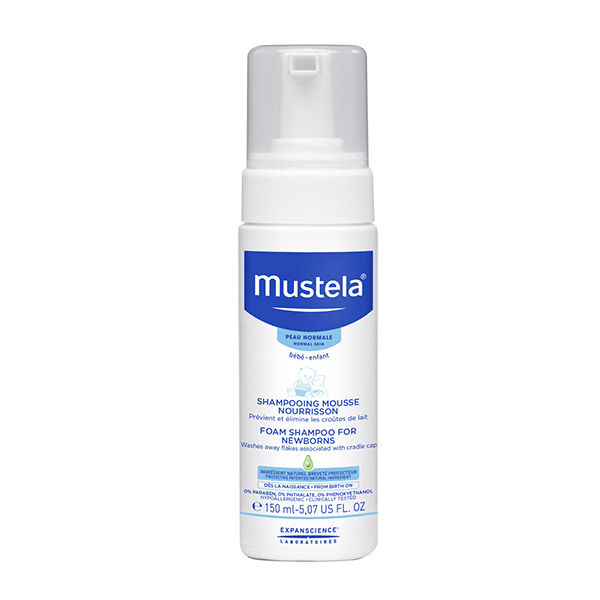 Mustela Șampon spumă pentru nou-născuți 150ml