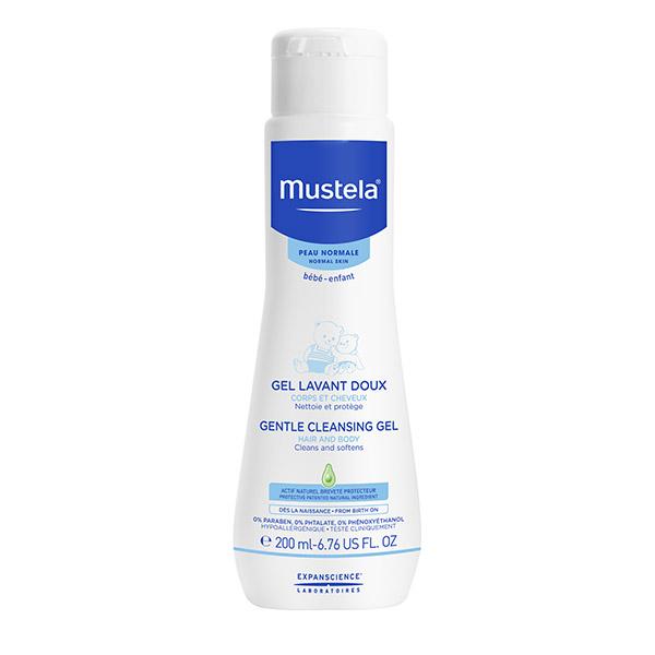 Mustela Gel curățător pentru păr și corp 200ml