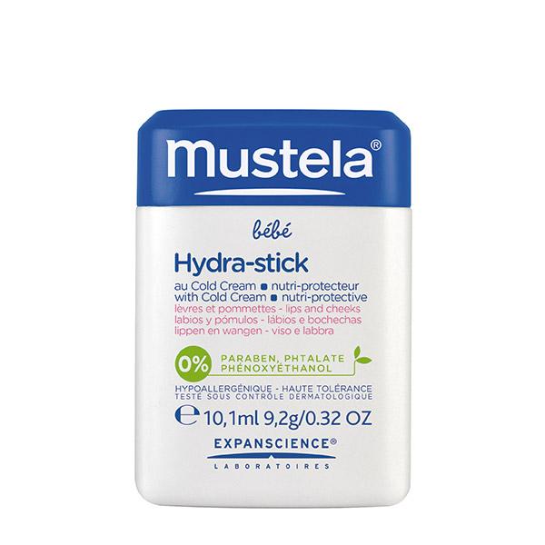 Mustela Hydra-Stick cu Cold Cream pentru buze și obraji 10.1ml