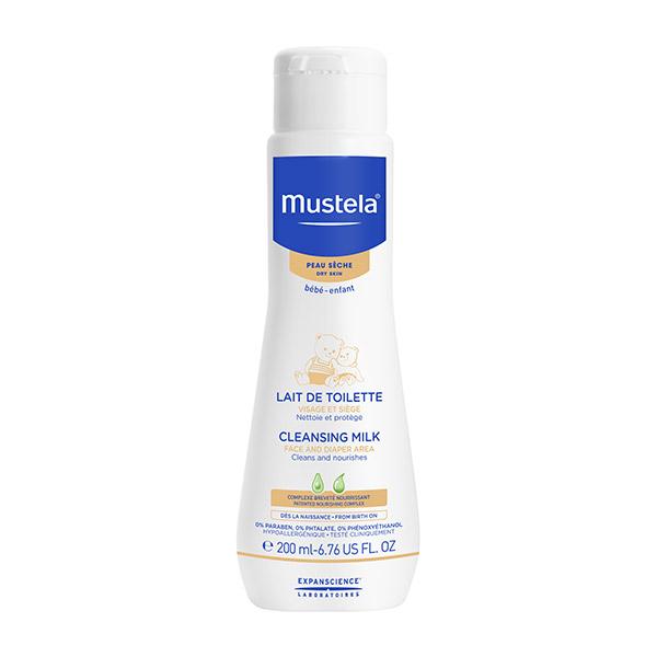 Mustela Lapte de curățare cu cold cream 200ml