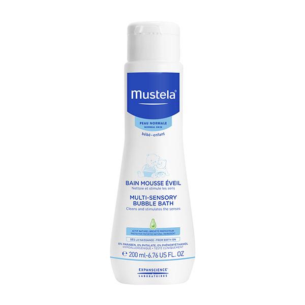 Mustela Spumă de baie multi-senzorială 200ml