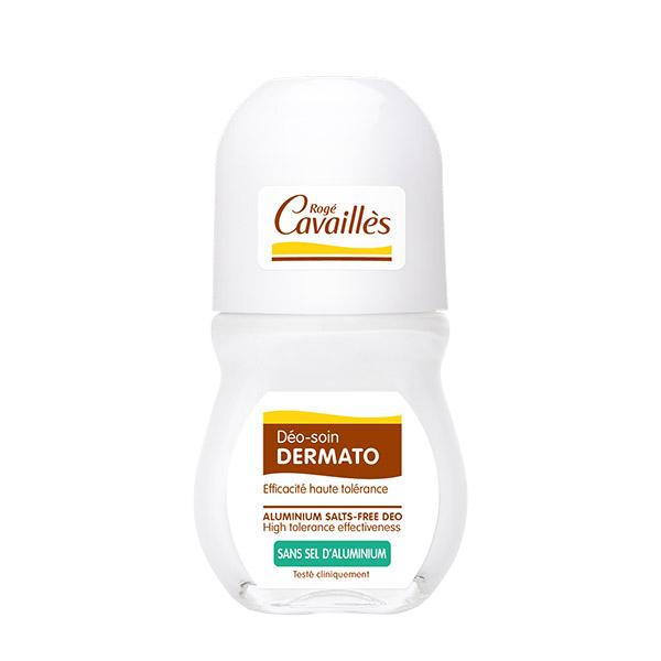 Roge Cavailles Deo roll-on dermatologic pentru piele delicata si sensibila 50 ml