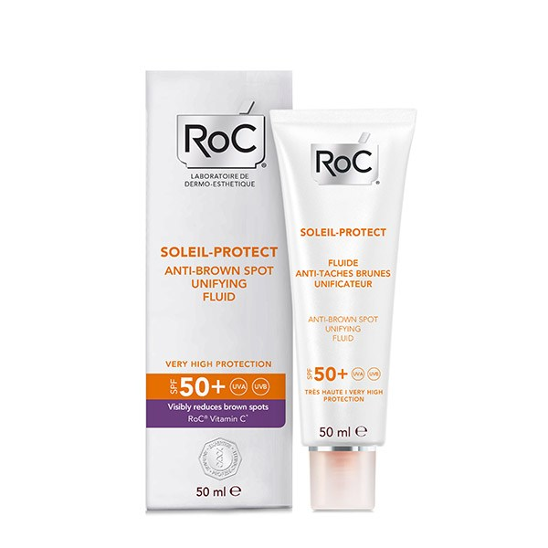 Roc Soleil Protect Fluid uniformizator antipete SPF50 50ml