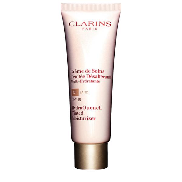 Clarins HydraQuench Cremă hidratantă colorată 01 Sand SPF15 50ml