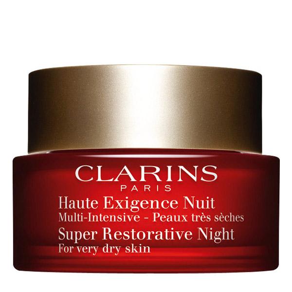 Clarins Super Restorative Cremă de noapte pentru ten foarte uscat 50ml