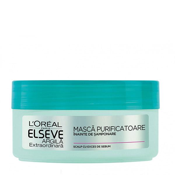 L'Oreal Paris Elseve Argila Extraordinara Mască pre-șamponare detoxifiantă 150ml