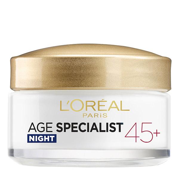 L'Oreal Paris Age Specialist 45 + Crema de noapte 50ml