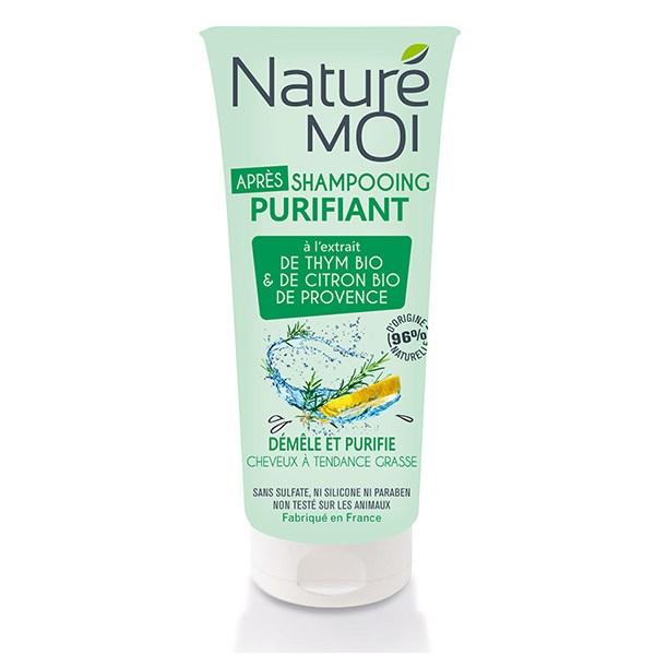 NatureMoi Balsam purifiant cu extract bio de Cimbru și Lămâi de Provence 200 ml