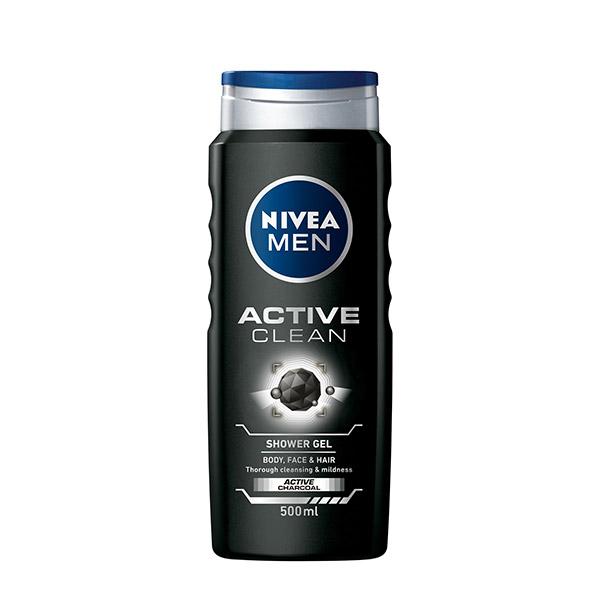 Nivea Active Clean Gel de dus 500ml