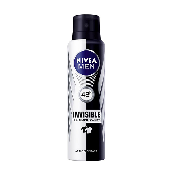 Nivea Deo Deodorant spray masculin Invisible for Black&White Power 150 ml