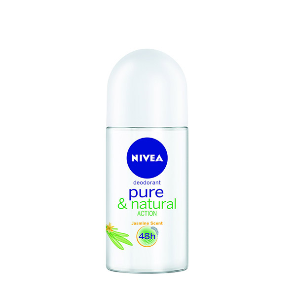 Nivea Deodorant roll-on Pure & Natural feminin 50 ml