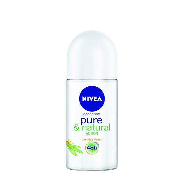 Nivea Deodorant roll-on Pure & Natural feminin 50 ml