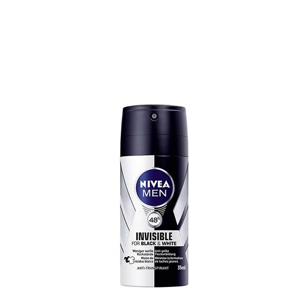 Nivea Men Deo masculin Invisible for Black&White Power 35 ml