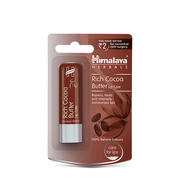 HIMALAYA Balsam hrănitor pentru buze Cacao 4.5g
