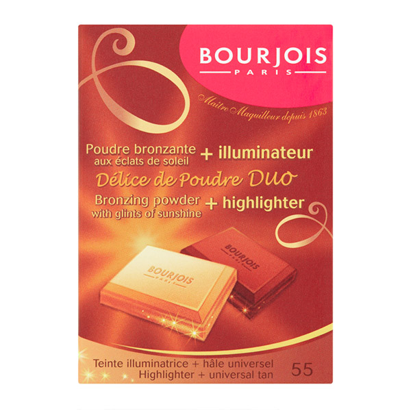 BOURJOIS Delice de Poudre Pudră bronzantă 52 Mat/Bronzant 16.5g