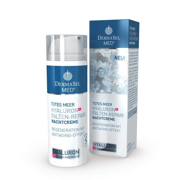 DERMASEL Crema noapte acid hialuronic 50ml