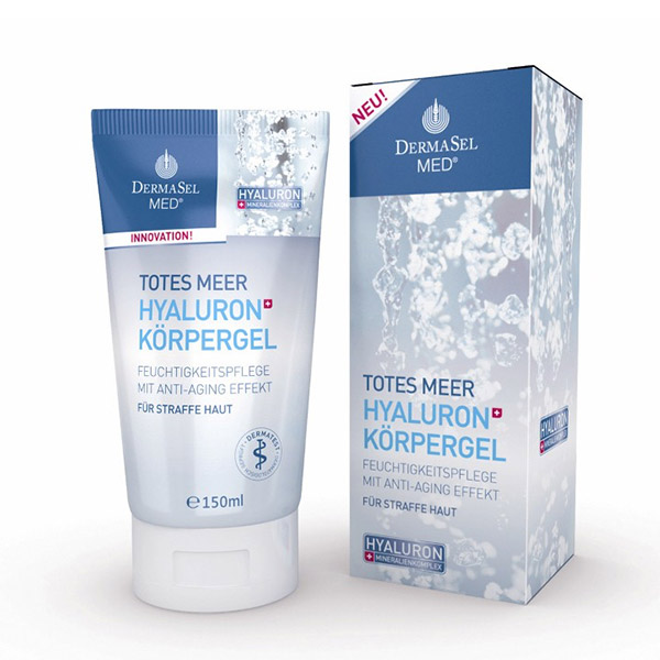 DERMASEL Gel hidratant cu acid hialuronic 150ml