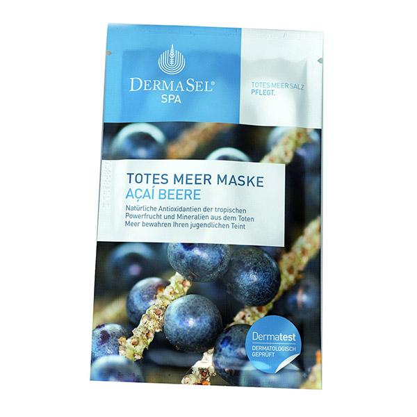 DERMASEL Masca de fata antioxidanta cu acai berry 12ml