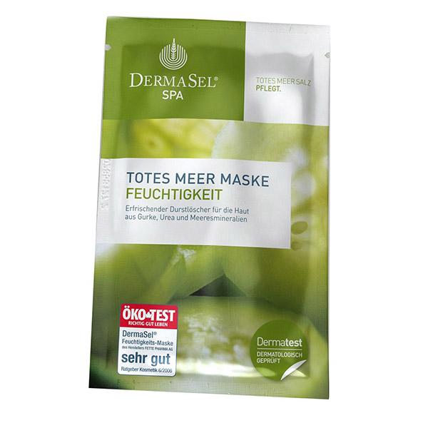 DERMASEL Masca hidratanta cu extract de castravete 12ml