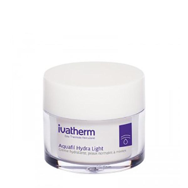 Ivatherm AQUAFIL HYDRA LIGHT Crema Hidratanta Piele normala sau mixta 50 ml