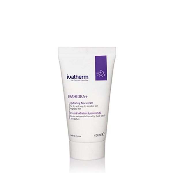 Ivatherm IVAHIDRA+ Crema Hidratanta pentru fata, piele uscata sau foarte uscata 40 ml