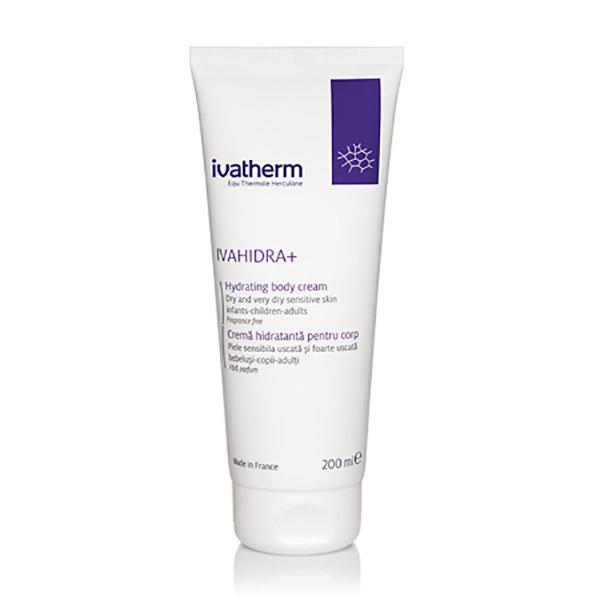 Ivatherm IVAHIDRA+ Crema Hidratanta pentru piele foarte uscata sau atopica 200 ml