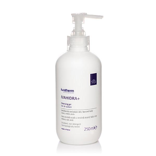 Ivatherm IVAHIDRA+ Gel de spalare piele sensibila, foarte uscata sau atopica 250 ml