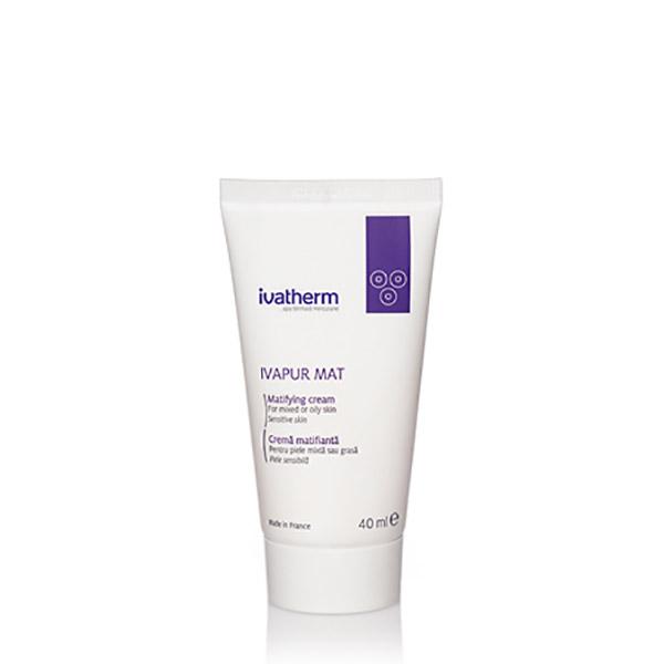 Ivatherm IVAPUR MAT Crema matifianta piele mixta sau grasa 40 ml